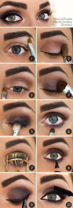 вечерний макияж2