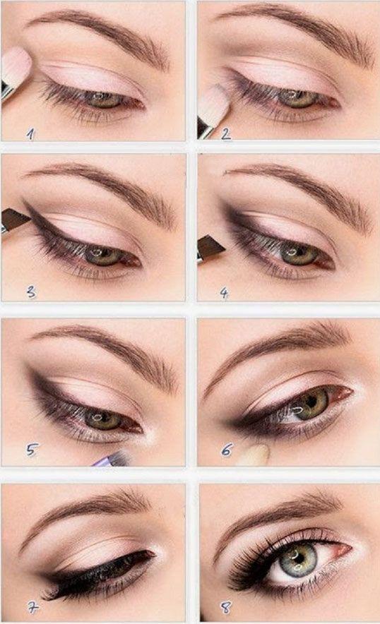 Макияж для серых глаз в домашних условиях фото