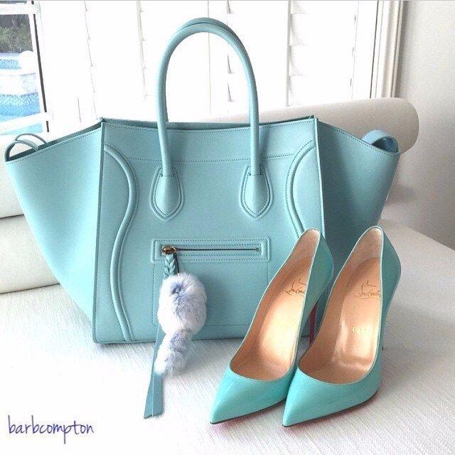 Голубая сумка 2018 фото