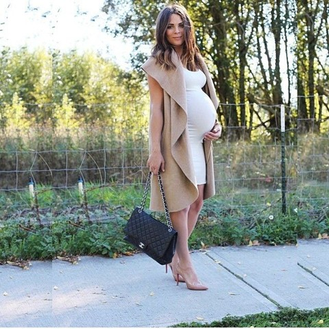 стильные беременные девушки фото голые