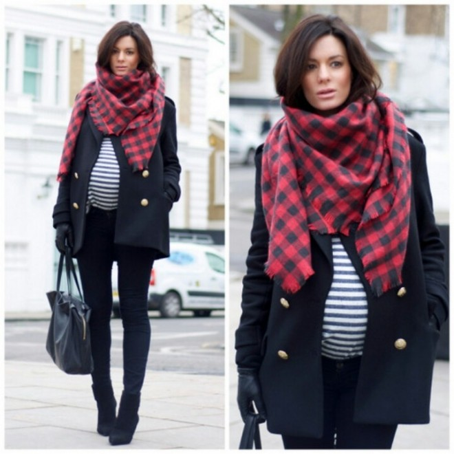 Лук для беременных зима 44