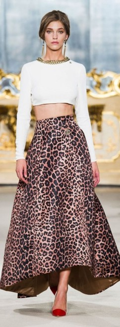 леопардовый принт