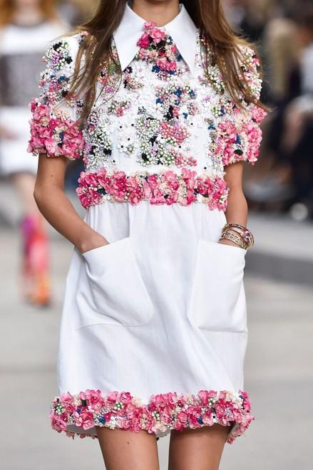 Коллекция Chanel Трендовые весенне-летние платьица 2019. Коллекция Chanel f2c2757516e