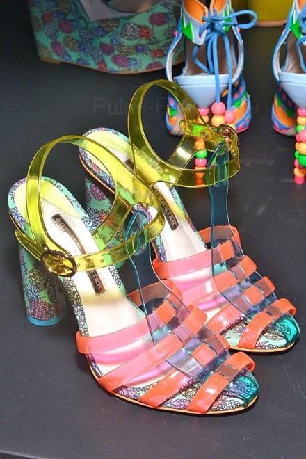 фото Модная Трендовая обувь сезон весна-лето 2018