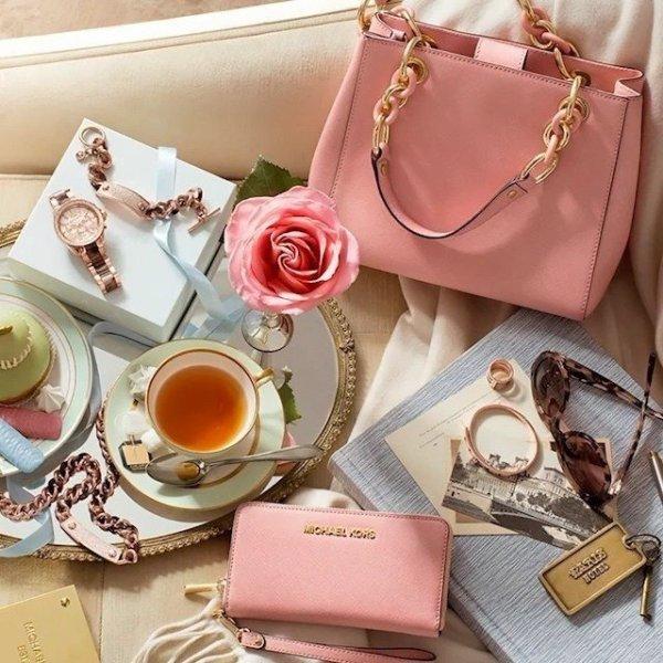 Розовая сумка 2018 фото