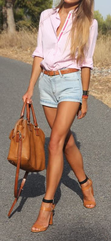 Модные джинсовые шорты лето 2017
