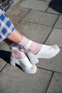 обувь тракторы chunky shoes