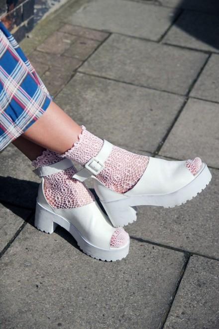 обувь тракторы chunky shoes