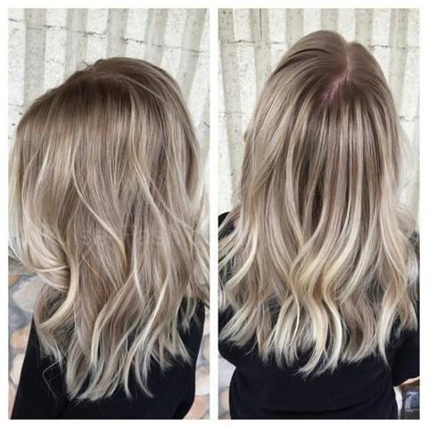 модный цвет волос 2017-2018