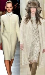 Белое пальто 2020