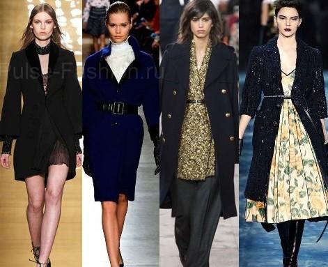 Черное пальто 2016