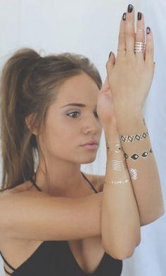 татуировка фольгой