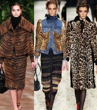 Леопардовое пальто 2016
