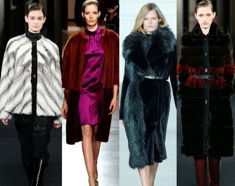 Шубы модные 2016