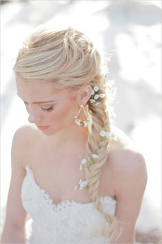 свадебные причёски