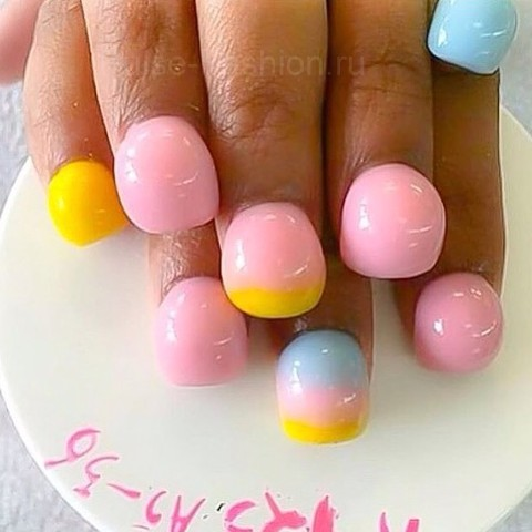 bubble nails