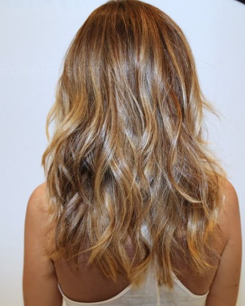 техника окрашивания волос