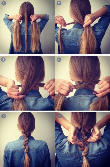 Плетение кос на длинные волосы: пошаговая инструкция в видео.