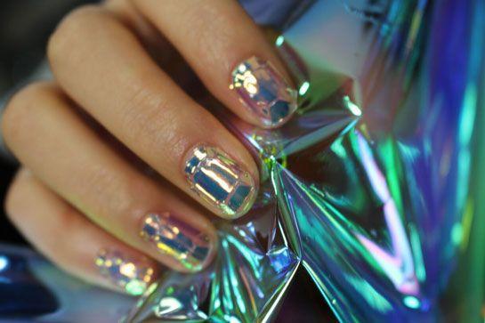 стеклянные ногти glass nails
