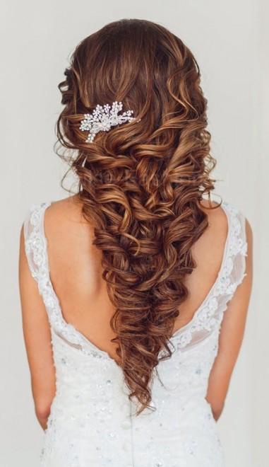 свадебные причёски свадебные