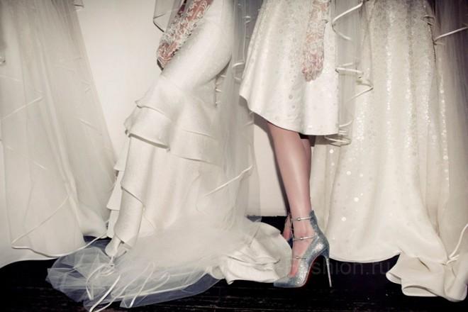 свадебная обувь 2018