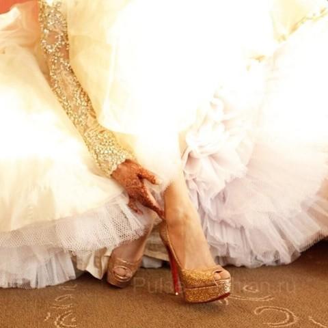 свадебная обувь 2019