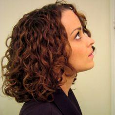 стрижка для вьющихся волос