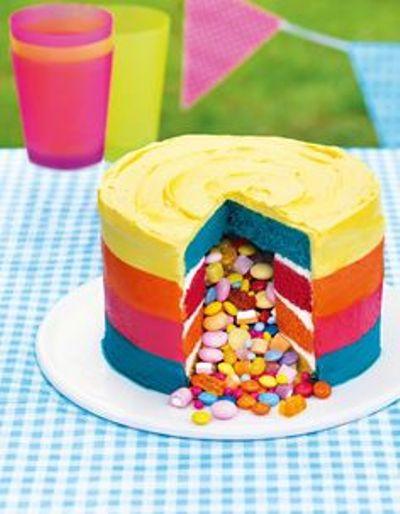 как приготовить торт с сюрпризом