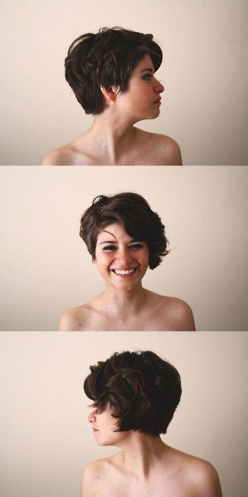 стрижка пикси для вьющихся волос