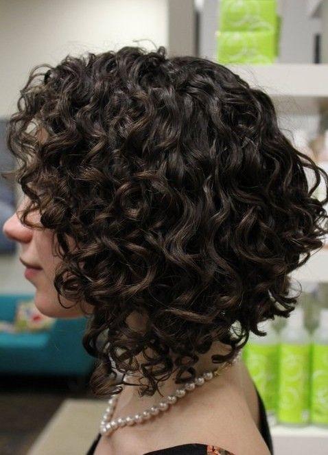 фото кудрявые волосы каре