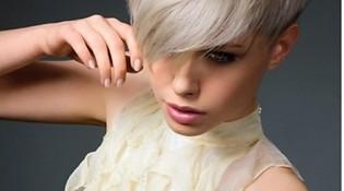 Стильная и модная прическа для коротких волос фото для вечеринки
