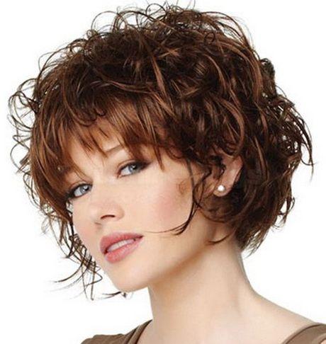 Стрижки и причёски для вьющихся волос