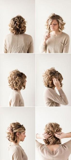 Стрижки и причёски для вьющихся волос укладка
