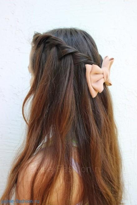 красивые причёски своими руками