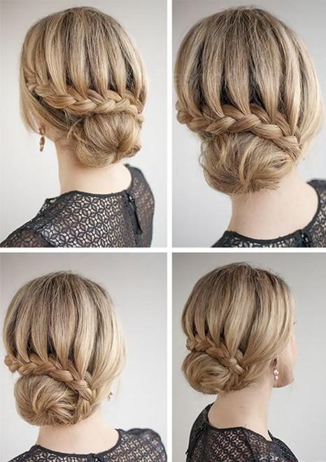 схемы плетения волос фото, шаг за шагом