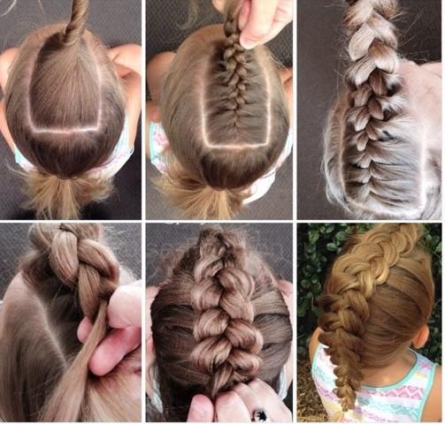 косы на длинные волосы,