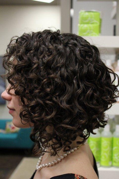 Химическая завивка волос спиральная
