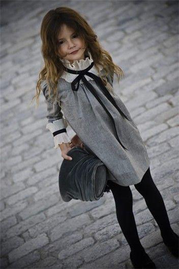 стильные детские образы 2018