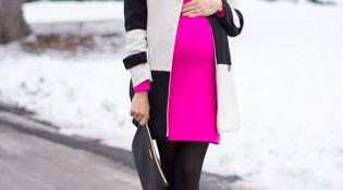 мода для беременных зима 2016