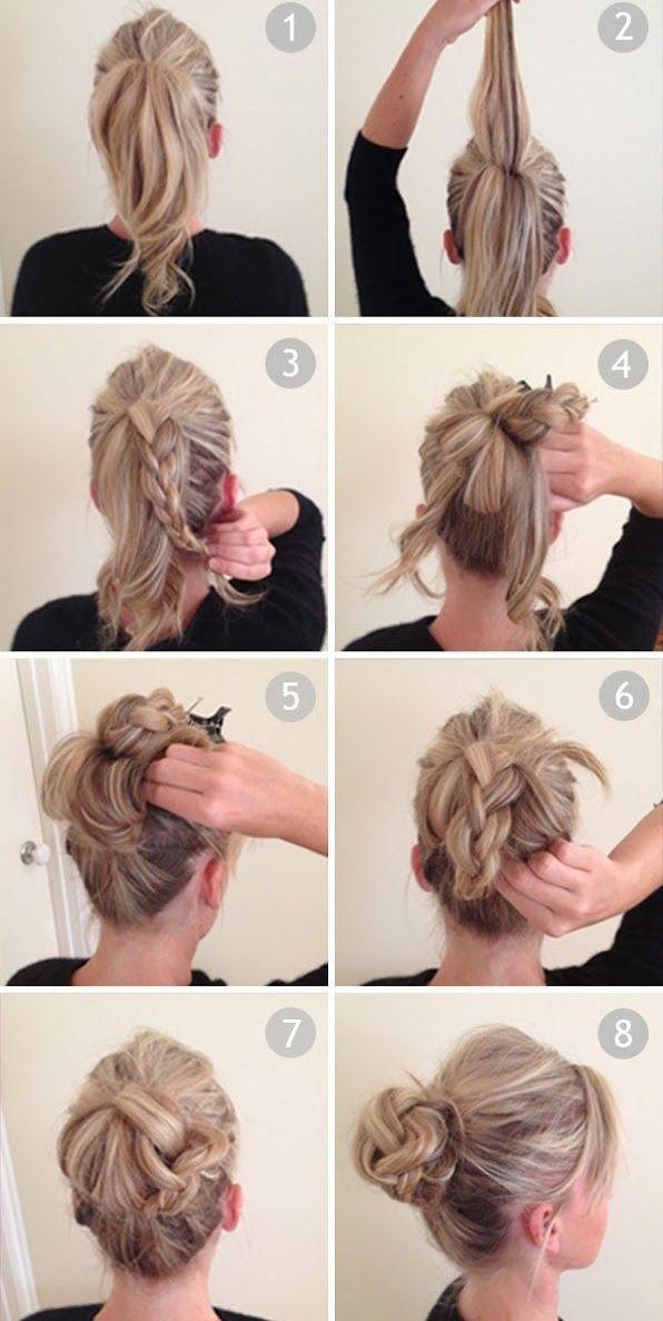 Небрежные прически на длинные волосы на каждый день своими руками