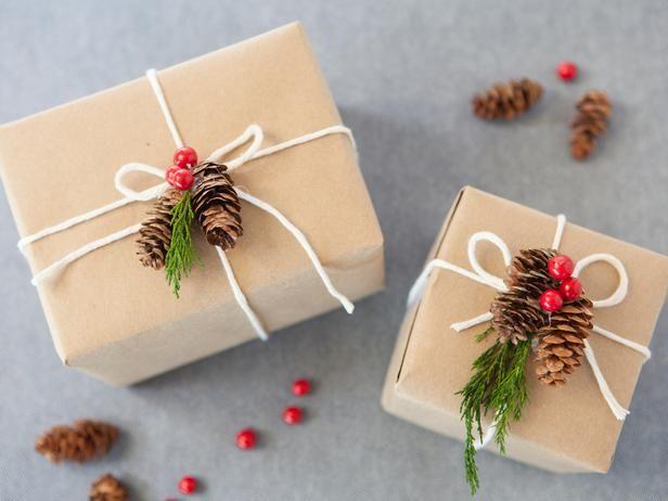 Красивая упаковка подарков на новый год своими