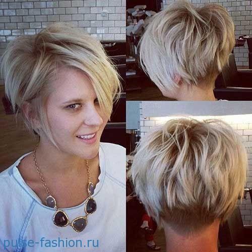 Модные стрижки для коротких волос 2017: фото. Актуальные прически