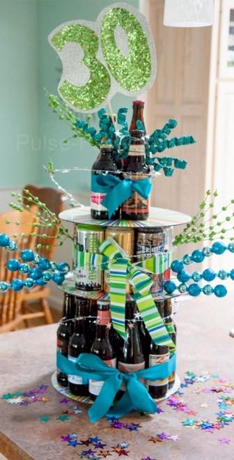 торт из пива на день рождения мужа