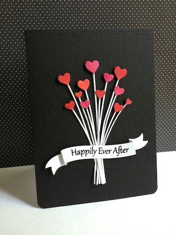 открытки на день святого валентина своими руками