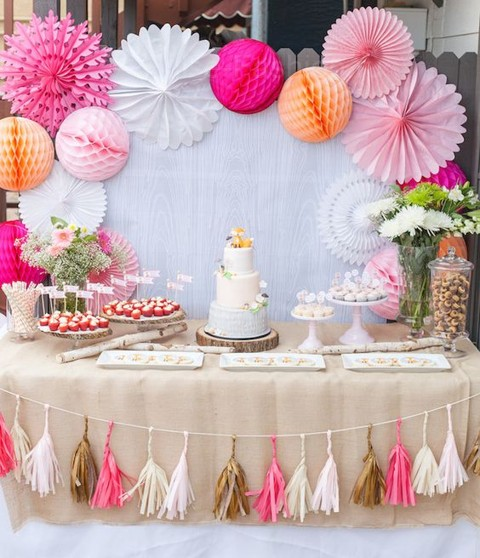 Dessert ideas for a baby shower