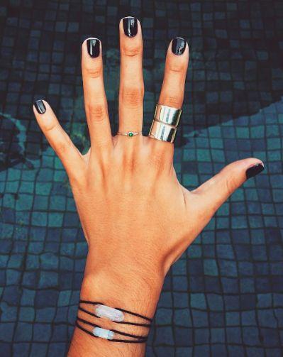 короткие ногти 2016
