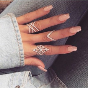 модная форма ногтей 2018 пуанты