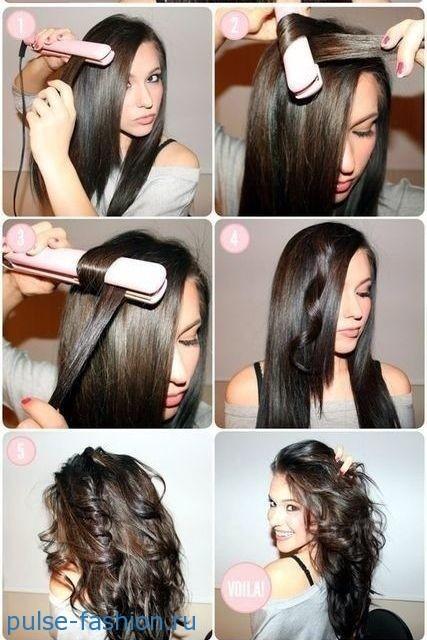 Укладка волос своими руками в домашних условиях фото 824