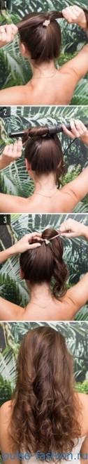 укладки на средние волосы