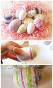 блестяпасхальные яйца своими рукамищие пасхальные яйца своими руками